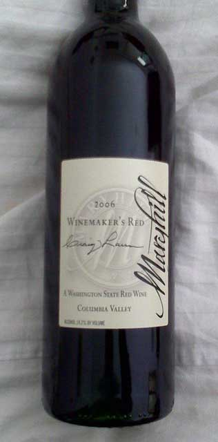 Maryhill Winemaker's red